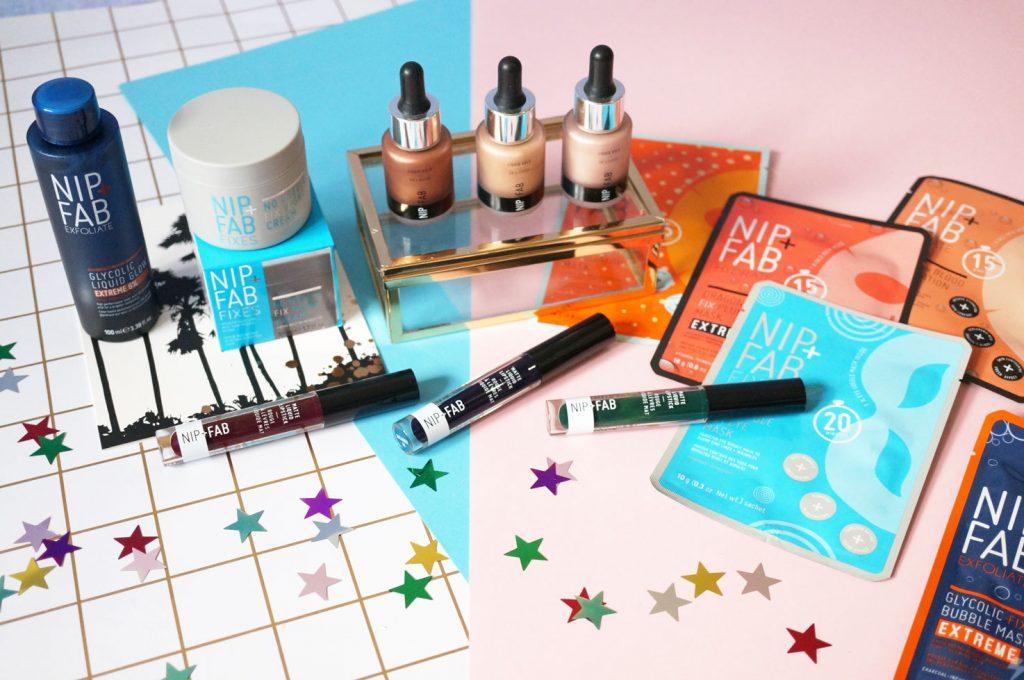 Beauty: New from Nip+Fab: Highlighters, Liquid Lipsticks & Skincare