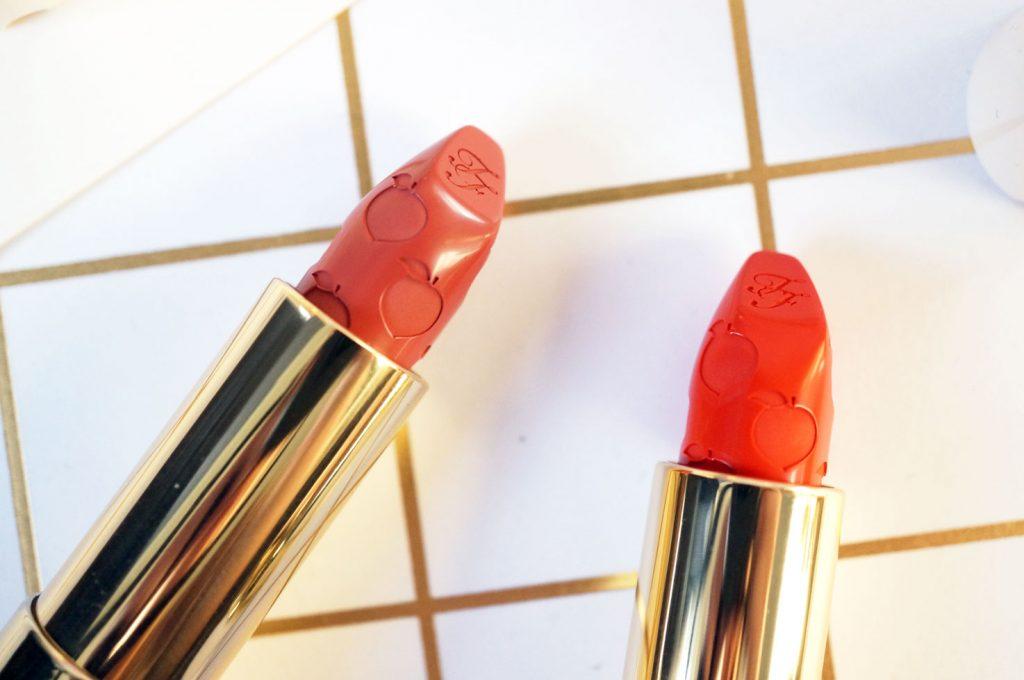 too-faced-peaches-cream-lipsticks-review