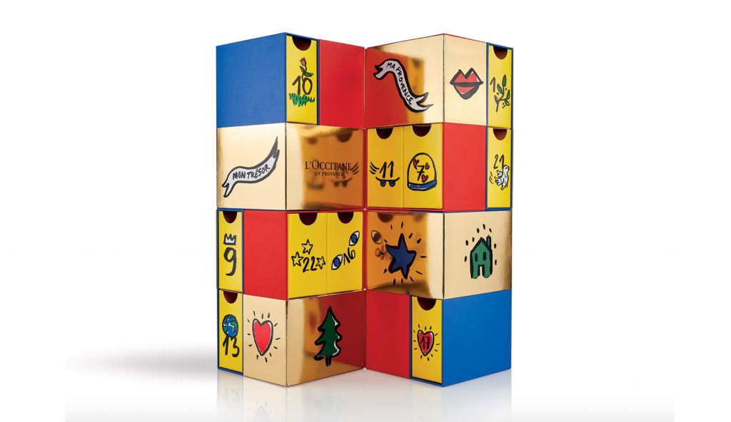 loccitane 2018 advent calendar