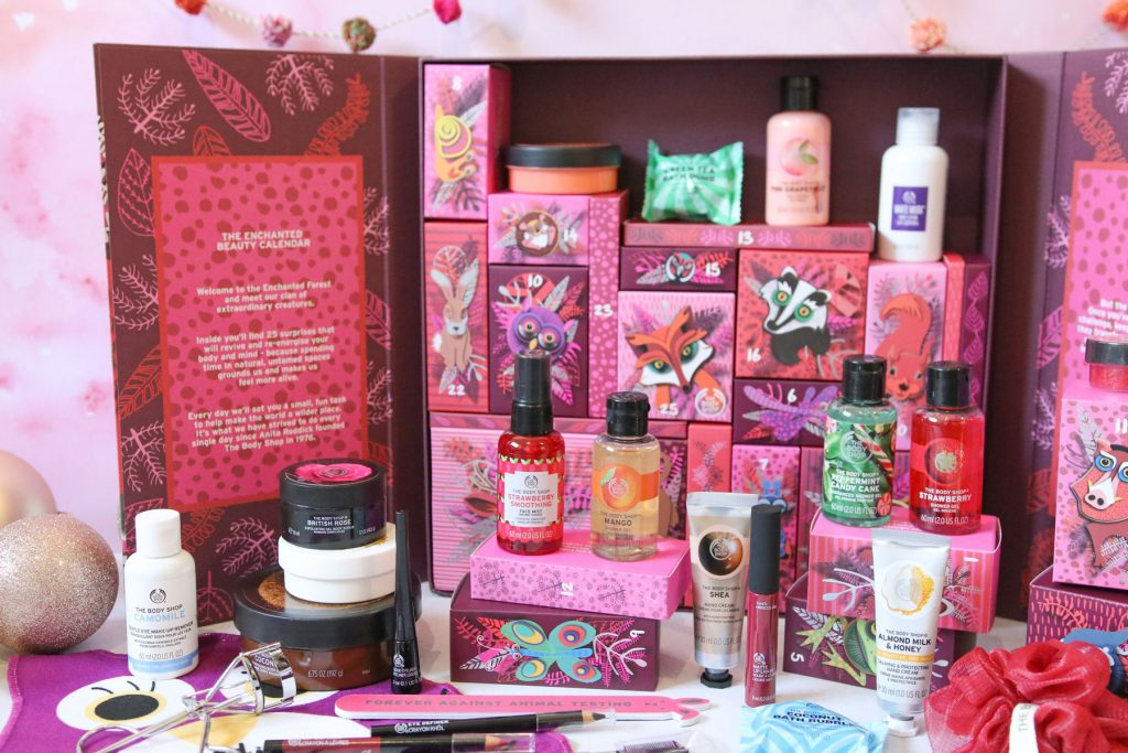 The Body Shop Enchanted Deluxe Advent Calendar – FULL CONTENTS!