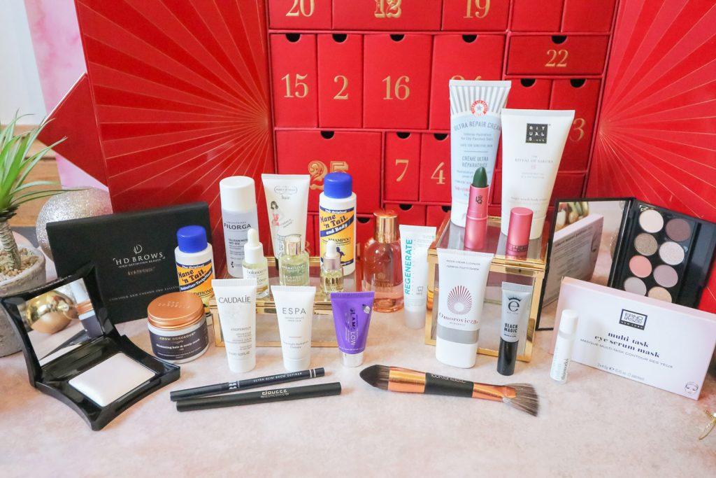 lookfantastic-advent-calendar-products