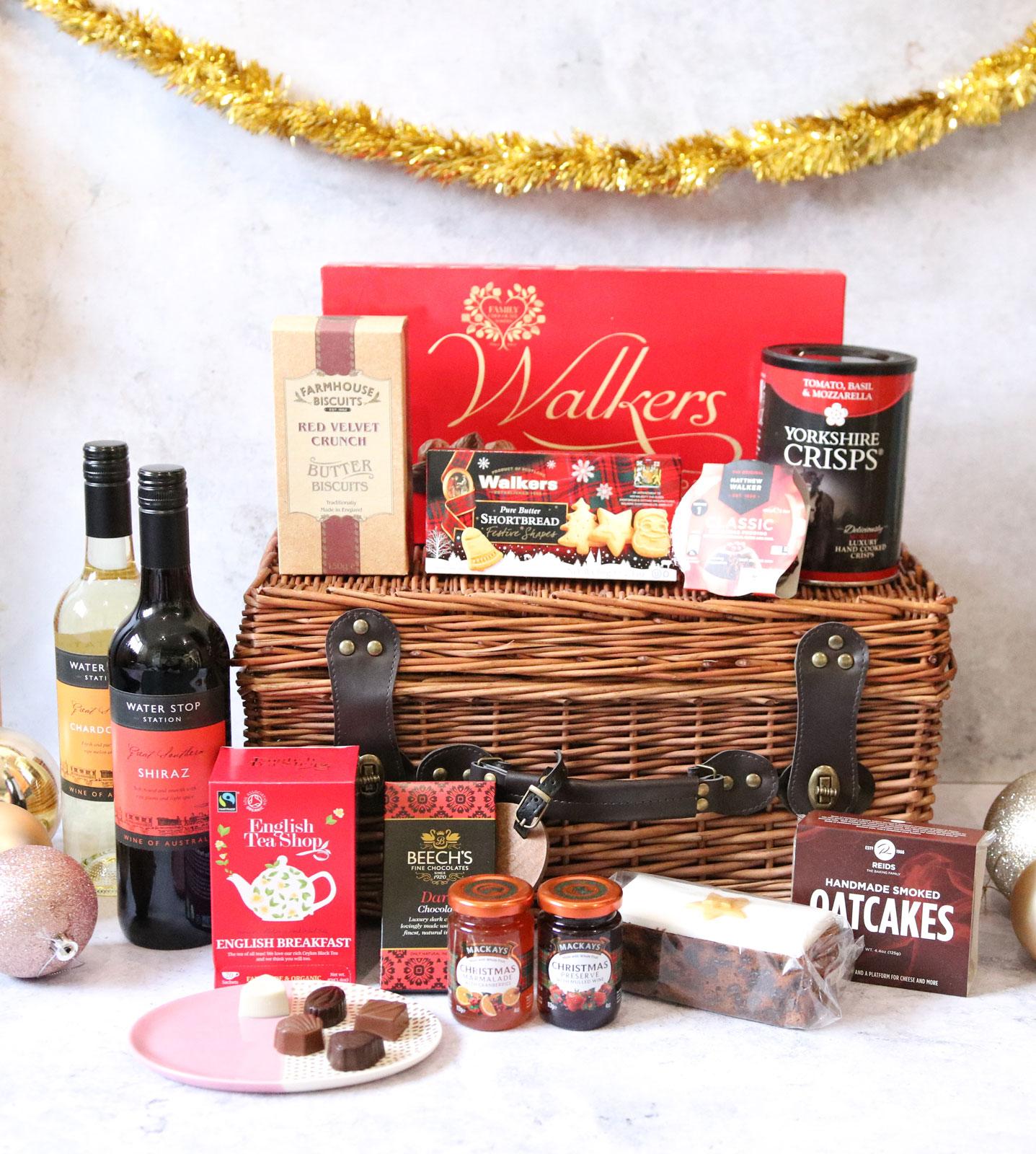 Prestige Hampers Traditional Christmas Gift Basket
